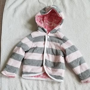 Burt's Bees Organic Cotton Reversible Coat 12 M